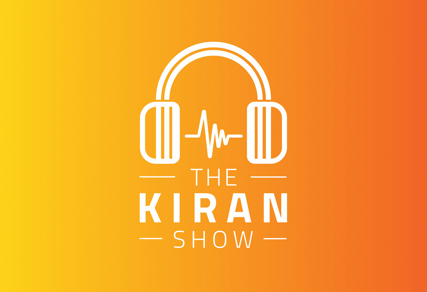 The Kiran Show Logo Design